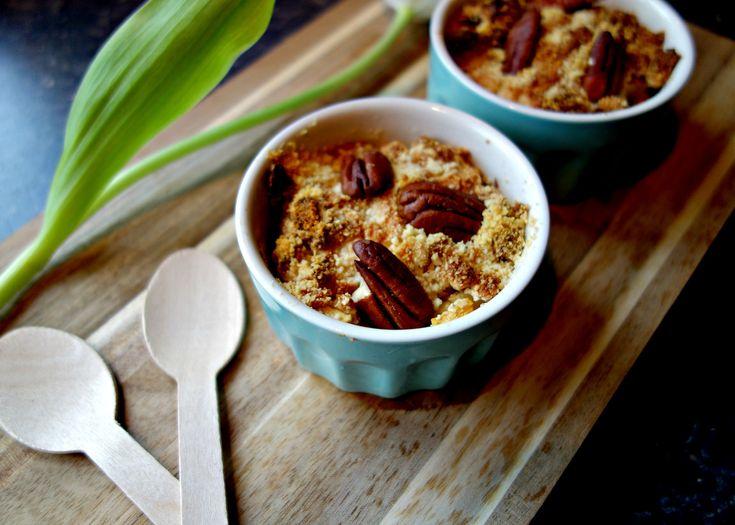Appel crumble ontbijt - healthyfoodlove