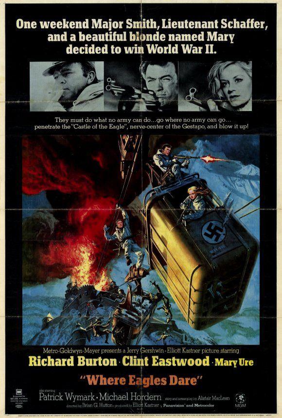 Where Eagles Dare 27x40 Movie Poster (1968)