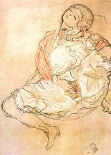 Gustav Klimt's women seated with thighs apart 1916 - the pleasure is all yours http://www.cassandrascollection.com/uncategorized/relationships/self-cultivation/