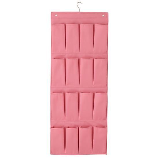 I Think I Canvas Shoe Hanger (Pink)  | The Land of Nod