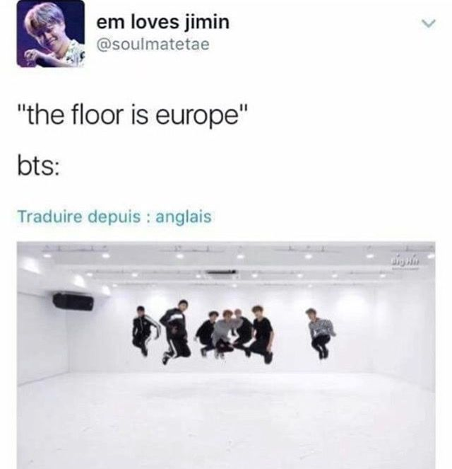 'The floor is lava' is soo yesterday... We ain't touchin' no Europe