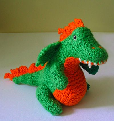 [Free Pattern] Meet Norberta: The Super-Cute Baby Dragon!