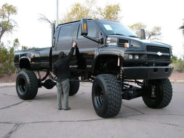 big lifted chevy trucks - photo #13