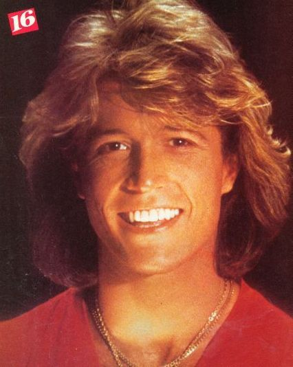 Andy Gibb - so much his brothers especially Barry.