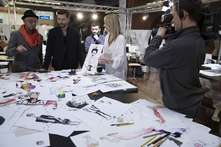 AF Workshops Fashion Drawing tutor: Tomek Sadurski #fashion #drawing #workshops #sadurski #art #festival #starybrowar #poznan #jacykow #puslecka #tvn