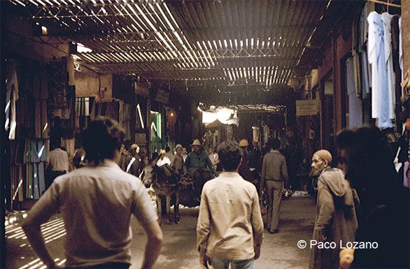 Souk of Marrakech, 1984 (Morocco) : World Travel Pictures