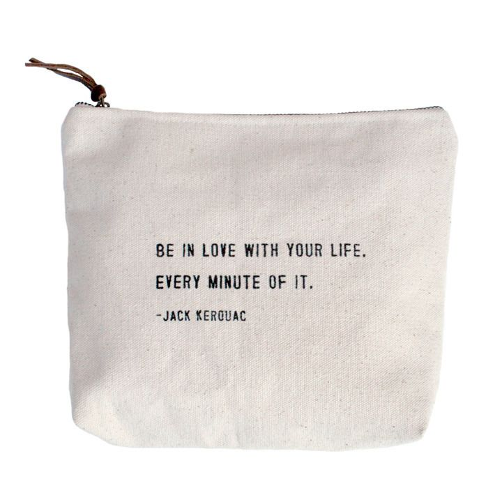 """Be In Love"" Canvas Bag - LoveFeast Shop"