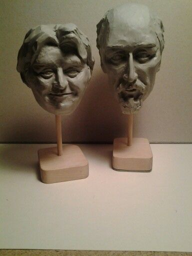 models for giant puppets, scale 1:10 #puppetry
