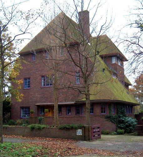 Dirk Roosenburg, Nieuwe Parklaan, Den Haag, 1928