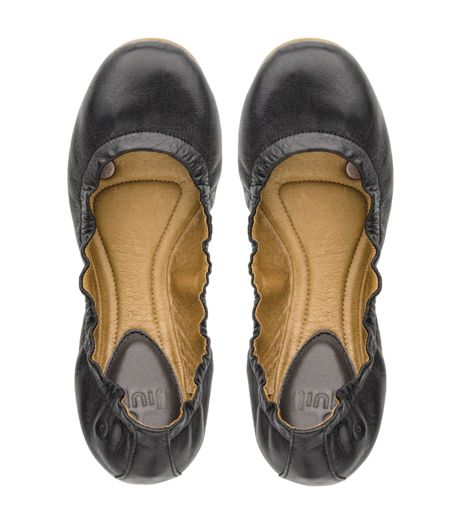 Aria Leather Ballet Flats For Women Juil Earthing