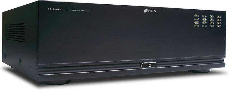 Niles SI-1650. Flexibile power and web-based control to meet your needs. The Niles SI-1650 multi-channel power amplifier offers the ultimate in convenience and control to handle big, whole-house installation projects.