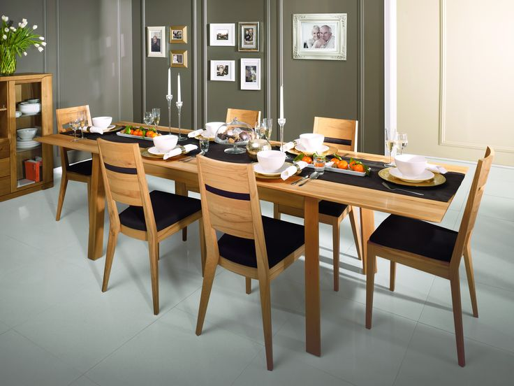 Extra long dining room table - T23 table from Oleo collection #KloseFurniture #woodentable