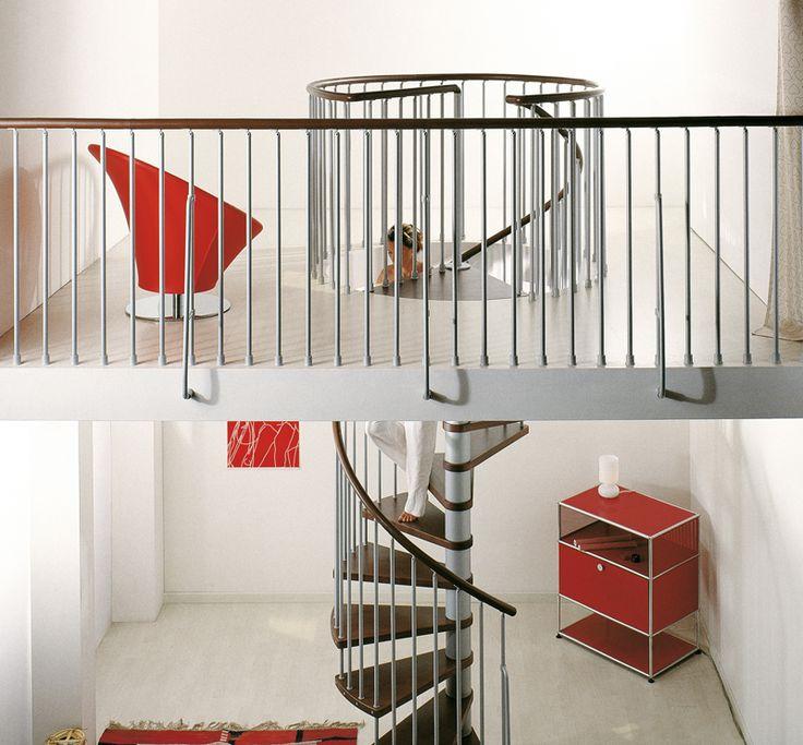 1000 ideas about escalier h lico dal on pinterest for Escalier colimacon exterieur en kit