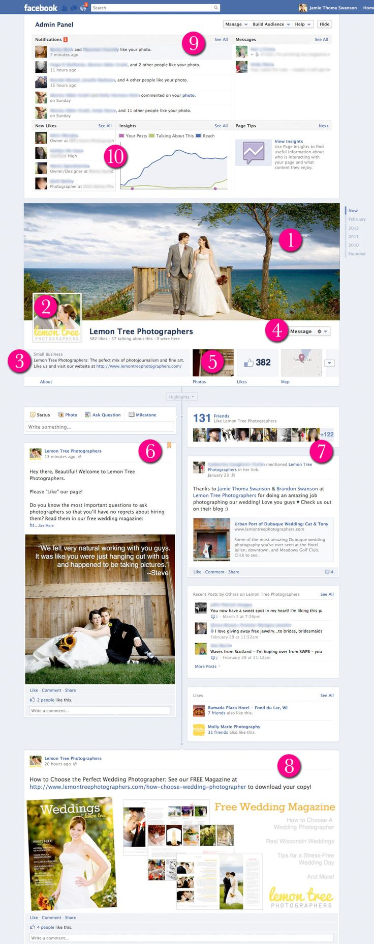 Everything you need to know about Facebook Timelines for Pages (and why you should love this as a photographer)!: Business Owners, Photography Business Marketing, Photography Marketing Ideas, Facebook Photographers Pages, Fb Timeline, Facebook For Photographers, Facebook Timeline Everything, Facebook Photography Pages, Facebook Timeline Smal