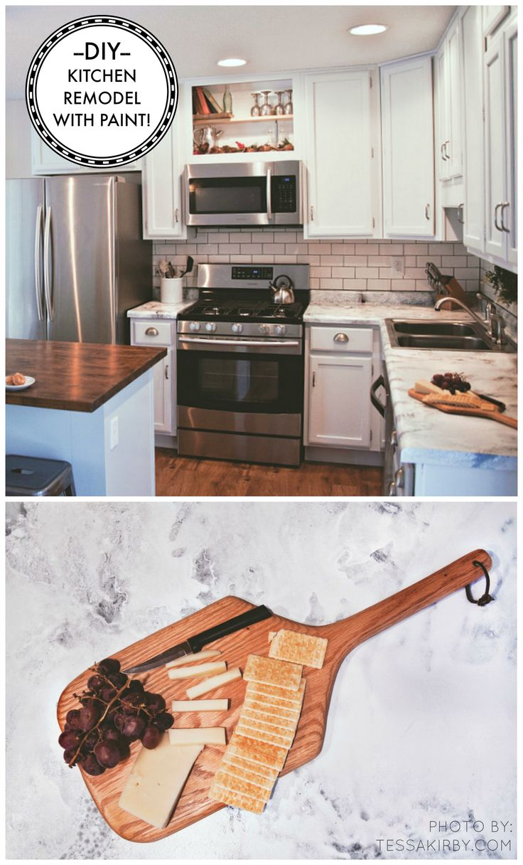 DIY Giani Countertop Kit - Kitchen Makeover On A Budget ...