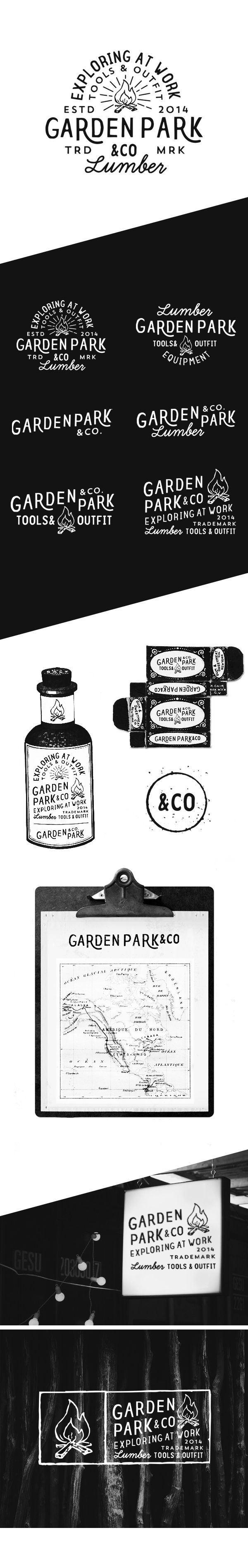 Garden Park & Co on Behance