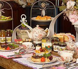 High Tea de luxe, Gardener Tea, Afternoon Tea, High Tea, Cream Tea @ AQUAMARIJN Engelse Thee-schenkerij | Stieltjeskanaal (Drenthe)