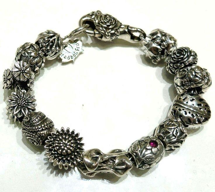Beads Redbalifrog in argento 925 compatibili con pandora e trollbeads Facebook: pianeta beads www.gold-jewels-italy.com