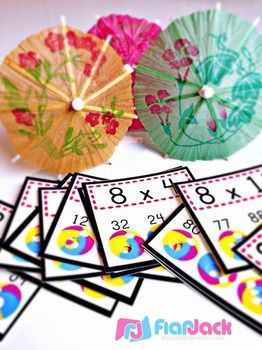 Get ready for summer with this Beach Ball Poke game that will help students practice and master multiplication facts 1-12. This game is self-checking and a great addition to centers or small groups.See how poke cards work in my Poke Cards Video.Hope you enjoy!