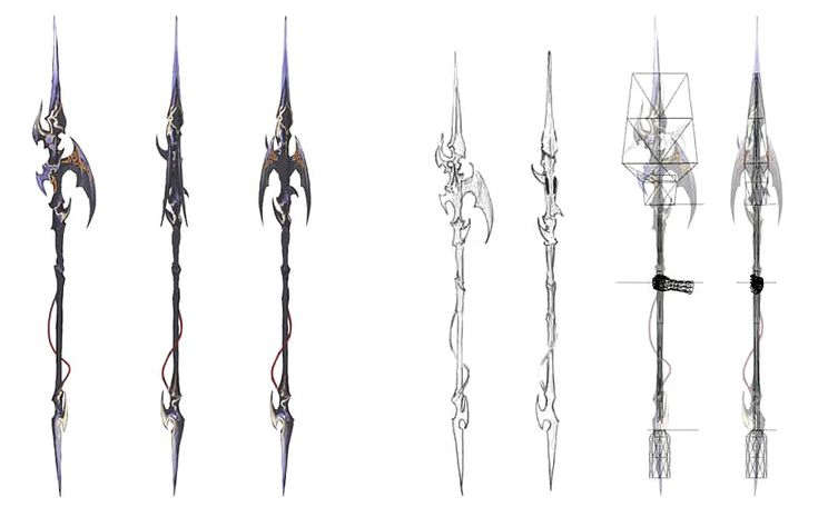 Weapons a realm reborn and final fantasy xiv on pinterest
