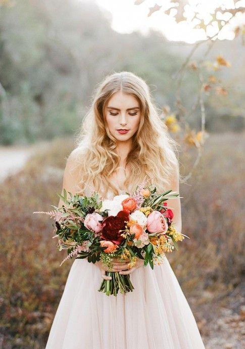 Les 25 meilleures id es de la cat gorie fleurs de mariage for Robes de fille de fleur pour le mariage d automne