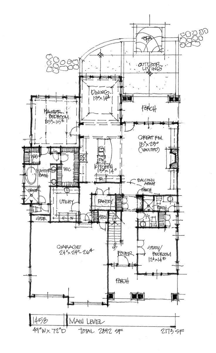 100 second story floor plans 561 best bungalows exteriors