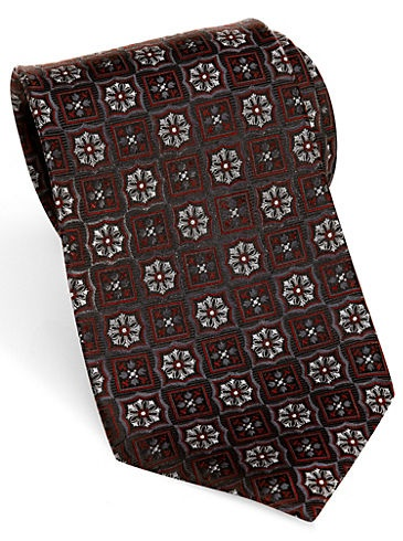 26ee597a6636 Ties - Pronto Uomo Couture Burgundy Geometric Extra Long Tie - Men's  Wearhouse | Standard Attire | Mens suits, Custom clothes, Suits