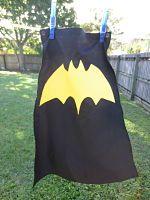Bat Cape-batman cape bat boys kids cape snaps imaginative play gift