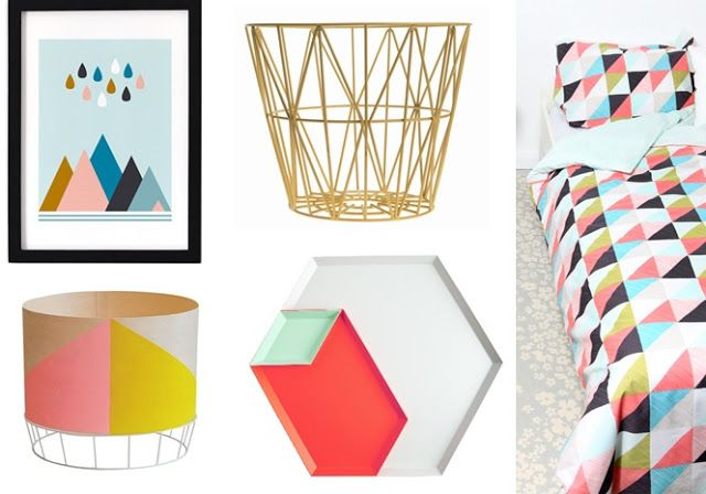 90 best images about variation triangulaire on pinterest - Lit design scandinave ...