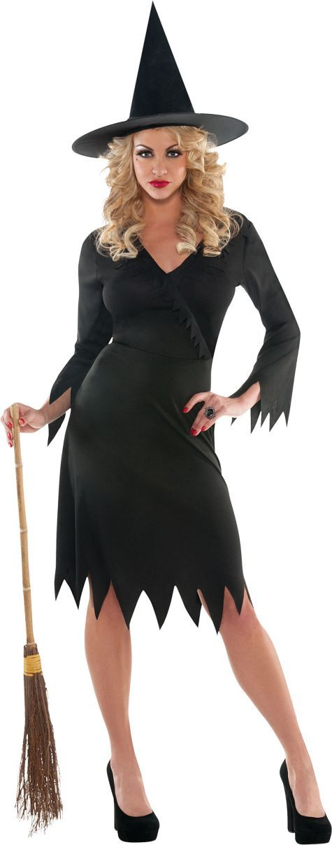 buy a more witch like dress or just whip out your favorite lbd add - How To Look Like A Witch For Halloween