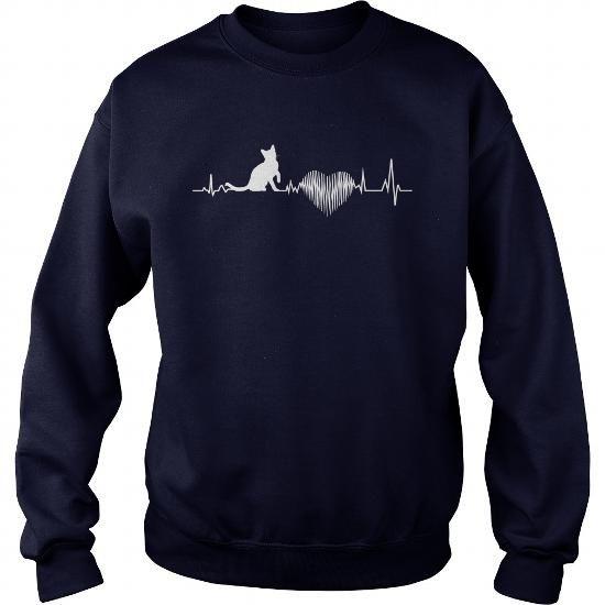 European Burmese Heartbeat  Crew Sweatshirts T-Shirts, Hoodies ==►► Click Order This Shirt NOW!