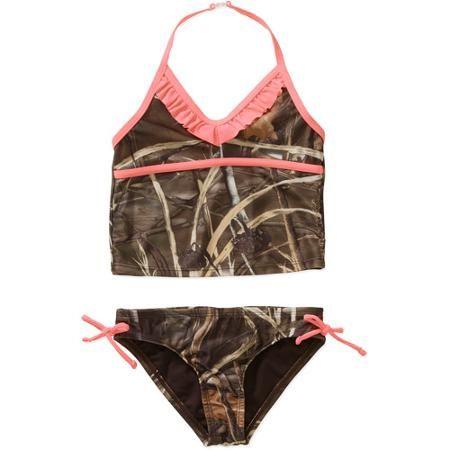 f4c16e247a Girls' Camo Tankini Swimsuits #Realtreecamo | Camo Babies & Kids | Swimsuits,  Kids swimwear, Kids suits