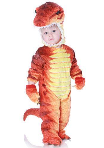 Red T-Rex Dinosaur Costume