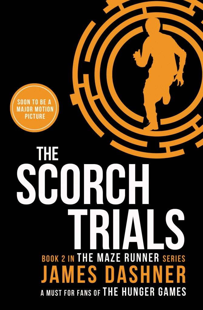 The Scorch Trials by James Dashner. Thomas was sure that escape from the Maze meant he and the Gladers would get their lives back. But no one knew what sort of life they were going back to.  Now, the earth is a wasteland. Government and order have disintegrated and Cranks – people driven to murderous insanity by the infectious disease known as the Flare – roam the crumbling cities hunting for their next victim …... and meal.