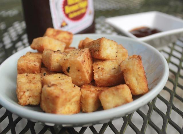 Tempting Crispy Fried Tofu Will Make You Want Tofu on Everything