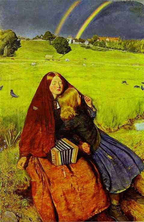 The Blind Girl - Sir John Everett Millais