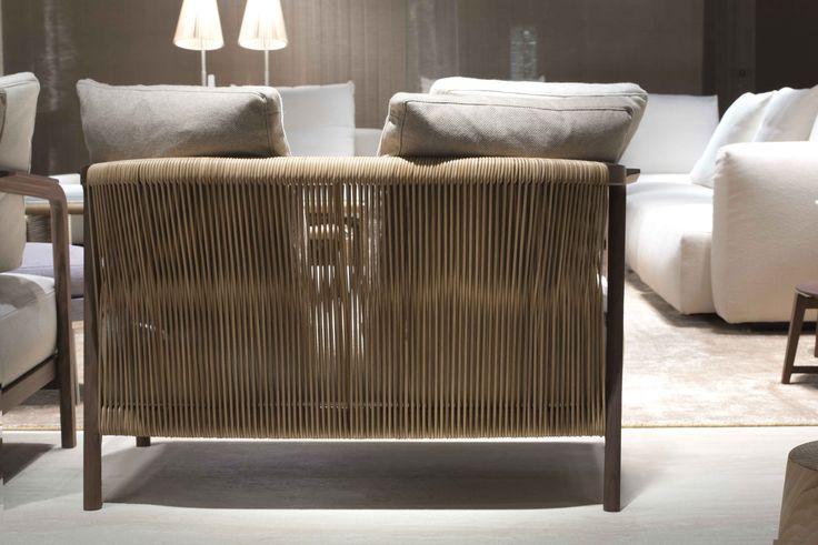 FLEXFORM stand at Salone del Mobile Milano 2016 | #FLEXFORM CRONO #sofa #design Antonio Citterio