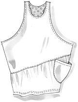 Большая подборка Бохо или богемские выкройки, эскизы одежды - Nebka.Ru