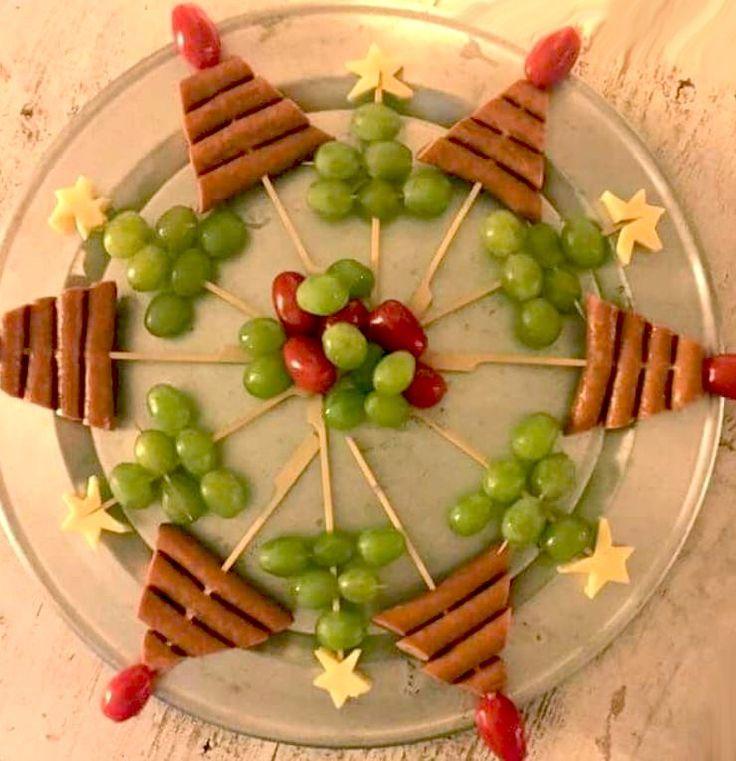 worstboompjes en druivenboompjes (kan ook met olijven)