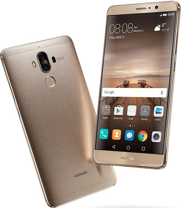 Huawei Mate 9 NETWORK Technology  GSM / CDMA / HSPA / EVDO / LTE LAUNCH Announced 2016, November Status Available. Released 2016, December BODY Dimensions 156.9 x 78.9 x 7.9 mm (6.18 x 3.11 x 0.31 in) Weight 190 g (6.70 oz) SIM Single SIM (Nano-SIM) or Dual SIM (Nano-SIM, dual stand-by) DISPLAY Type IPS LCD capacitive touchscreen, 16M colors Size 5.9 inches (~77.5% screen-to-body ratio) Resolution 1080 x 1920 pixels (~373 ppi pixel density) Multitouch Yes Protection To be confirmed   - EMUI…