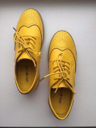 Aliexpress,  Оксфорды желтого цвета Доставка была мега - http://aliotzyvy.ru/aliexpress-oksfordy-zheltogo-cveta-dostavka-byla-mega/