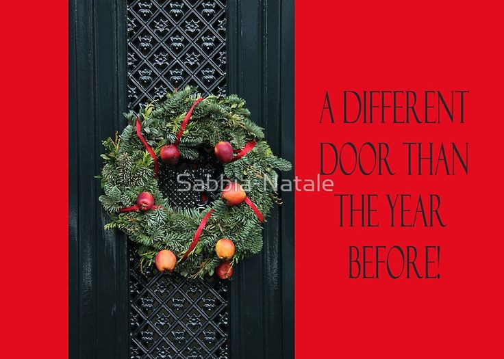 A Different door .... Christmas New Address Announcement