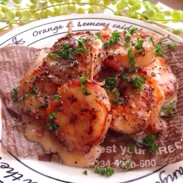 レシピはこちら http://pecolly.jp/user/profile/18513 - 34件のもぐもぐ - 海老のベーコン巻き by уцц