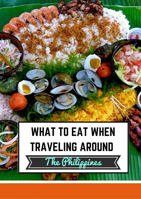 Ever been unsure what to eat when traveling? Here's a breakdown of what to eat in the Philippines