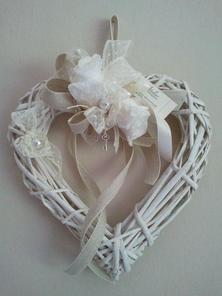 rattan & white roses