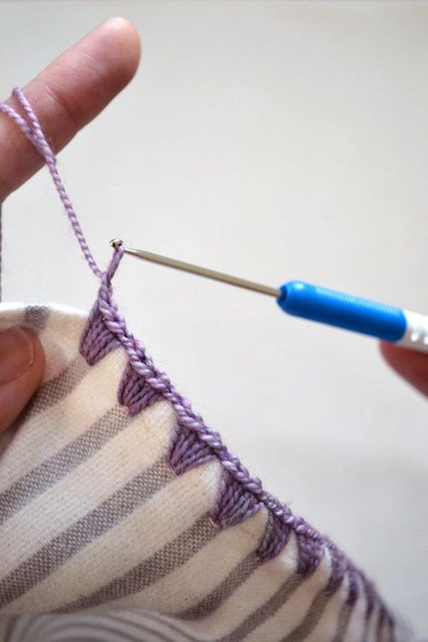 9 best Dreaming of Crochet Edging images on Pinterest | Crochet ...