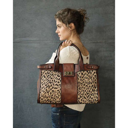 I don't even like leopard print, but I love this bag!