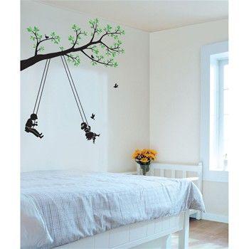 17 meilleures id es propos de sticker motif arbre pour chambre de b b sur pinterest paroi d - Deco muurschildering ...