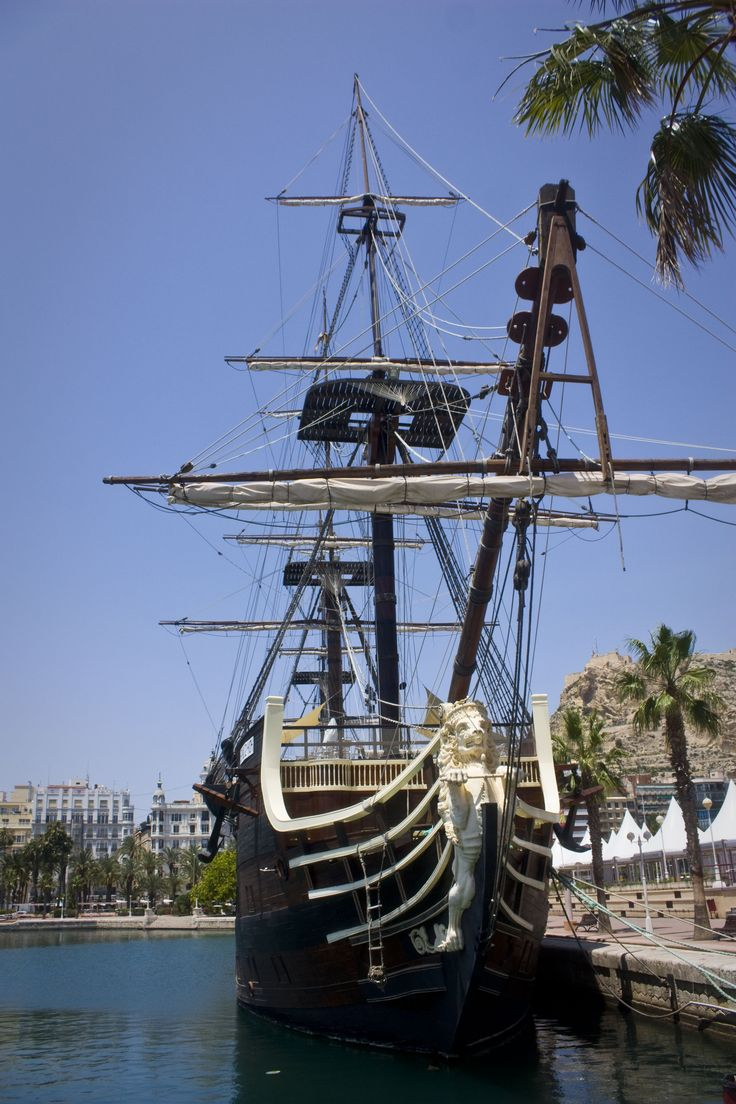 Pirate Ship Alicante, Spain