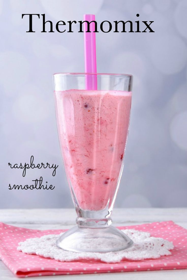 Thermomix raspberry and banana smoothie. #thermomix #smoothies